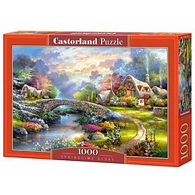 C103171 Đồ chơi ghép hình puzzle Spring time Glory 1000 mảnh Castorland