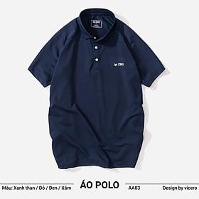 Áo Thun Nam Có Cổ Đẹp Trơn Cao Cấp Tay Ngắn Polo ZERO