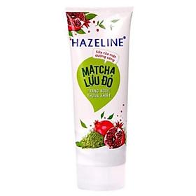 Sữa Rửa Mặt Sáng Da Hazeline Matcha - Lựu Đỏ (80g)