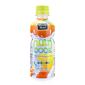 Nước trái cây Nutri vị cam sữa 297ml - 10789
