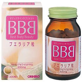 Viên uống nở ngực BBB Orihiro Best Body Beauty Nhật Bản 75g hộp 300 viên