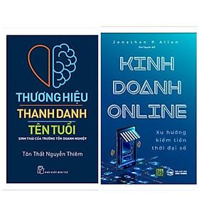 Combo 2 cuốn kinh doanh: Kinh Doanh Online+Thương Hiệu - Thanh Danh - Tên Tuổi