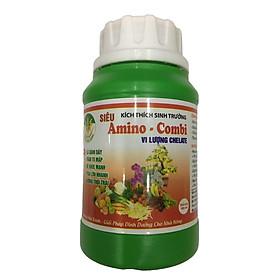 Phân Amino - Combi bổ sung Trung Vi lượng dạng Chelate giúp Siêu kích thích sinh trưởng cho hoa Lan - Hồng - hoa cảnh và các loại cây trồng