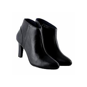Giày Boot Nữ Cột Dây Huy Hoàng HT7920 - Đen