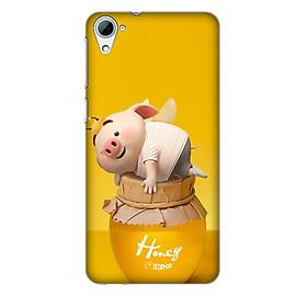 Hình đại diện sản phẩm Ốp lưng nhựa cứng nhám dành cho HTC Desire 826 in hình Heo Cute