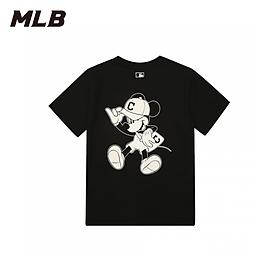 ÁO  MLB X DISNEY Short Sleeve T-Shirt Cleveland Indians