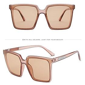 Kính mát nữ gọng vuông to, gọng mắt kính thời trang chống nắng K019 thu_sam_shop