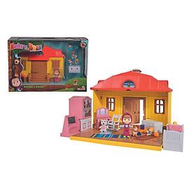 Đồ Chơi Ngôi Nhà MASHA AND THE BEAR Masha Playset ''Mashas House'' 109301633 - Đồ Chơi Simba