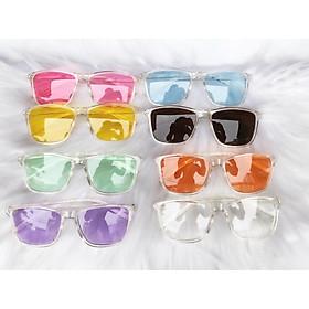 Mắt kính mát V tây ulzzang hot trend nhiều màu