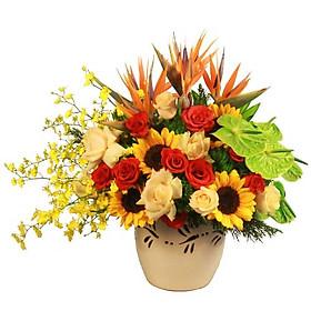 Bình hoa tươi - BUMBLEBEE 4172