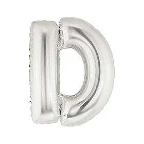 Bóng kiếng chữ lẻ trang trí màu bạc 40cm
