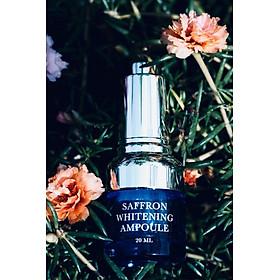Saffron Whitening Ampoule 20ml + Mặt Nạ Sinh Học Nhụy Hoa Nghệ Tây M'Lirati (Saffron Natural Cellulose) - T.H.Y-5