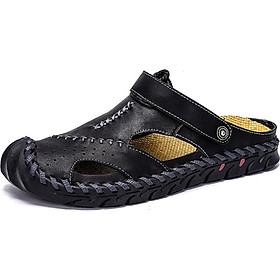 Men's Baotou Handmade Sandals Breathable Wearable Casual Beach Shoes