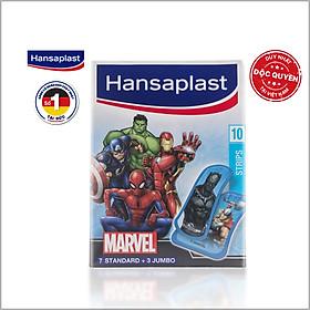 Băng cá nhân Hansaplast Marvel gói 10 miếng