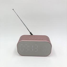 Loa bluetooth để bàn S2 đa chức năng mặt đồng hồ điện tử hiển thị giờ,nhiệt độ,độ ẩm, báo thức, đài FM