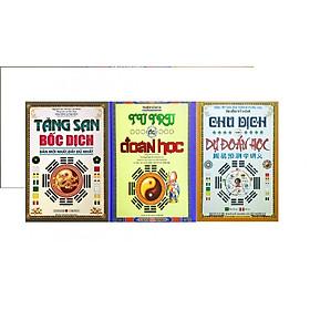 Combo 3 cuốn Tứ trụ dự đoán học, Tăng San bốc dịch, Chu dịch với dự đoán học 956
