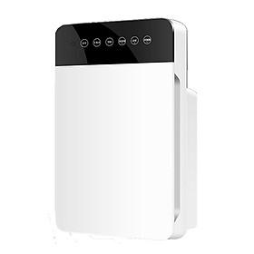 Máy lọc không khí XSQ-KJ-01 có màn hình hiển thị trừ khử các mùi hăng mùi hôi nhanh chóng chế độ tự động tạo ion lọc không khí hiệu quả lọc sâu PM 2.5 thích hợp cho mọi gia đình - Hàng nhập khẩu