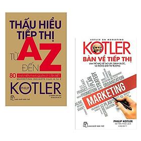 Combo Marketing - Bán Hàng :Thấu Hiểu Tiếp Thị Từ A - Z 80 Khái Niệm Nhà Quản Lý Cần Biết + Kotler Bàn Về Tiếp Thị ( Combo Sách Tiếp Thị Cho Bán Hàng Thành Công / Tặng kèm Bookmark Green Life )