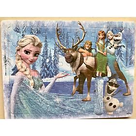 Tranh ghép hình 56-60 mảnh bằng gỗ SK - Công chúa Elsa