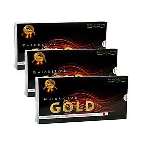 Bộ 3 Que thử thai Quickstick Gold 5mm