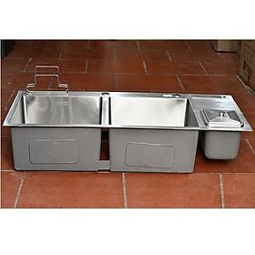 Chậu rửa bát INOX 304 có hộc rác HAFEN