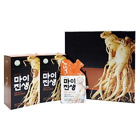 Nước Sâm Hàn Quốc My Ginseng Hộp 20 Gói - Hàng Nhập Khẩu-Tăng cường sinh lý,Hỗ trợ người cao huyết áp tiểu đường, tăng cường sức đề kháng người ốm yếu, phụ nữ sau sinh, cho người già và trẻ em.