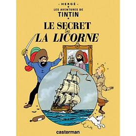 Truyện tranh tiếng Pháp: Tintin - T11 - Le Secret De La Licorne