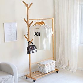 Giá treo,móc quần áo 1 tầng - Giá treo đồ