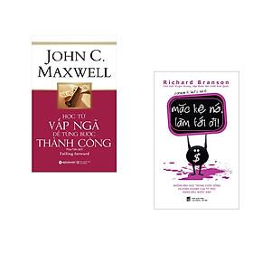 Combo 2 cuốn sách: Học từ vấp ngã để từng bước thành công + Mặc kệ nó làm tới đi