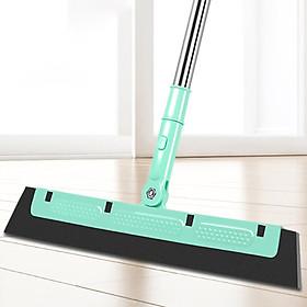 Chổi lau cửa kính, gạt nước, lau sàn cán dài 95cm , chất liệu hợp kim, nhựa cao cấp có thể xoay để phù hợp không gian cần lau chùi