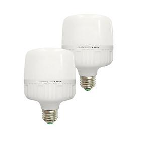 2 Bóng đèn Led trụ 40w siêu sáng tiết kiệm điện kín chống nước Posson LC-H40x