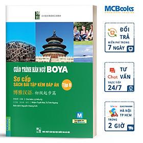 Giáo Trình Hán Ngữ Boya Sơ Cấp II - Sách Bài Tập Kèm Đáp Án (Dùng App MCBooks)