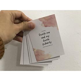 Bộ thẻ flashcard Những sự thật thú vị về tuổi dậy thì