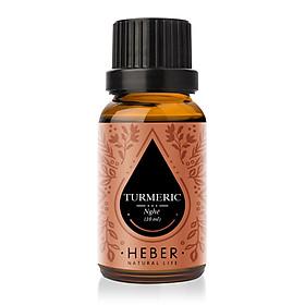 Tinh dầu Nghệ Turmeric Essential Oil Heber | 100% Thiên Nhiên Nguyên Chất Cao Cấp