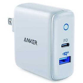 Adapter Sạc Anker PowerPort PD+ 2 Cổng 35W - A2636 - Hàng Chính Hãng