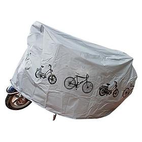 Tấm Bạt trùm Xe máy, Xe Đạp chê mưa nắng