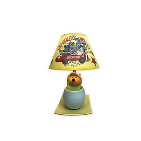 Đèn Gốm Sứ Trang Trí Điện Quang ĐQ DL18 WW (Thân Hình Gấu Vàng, Bóng Led 5W, Warmwhite)