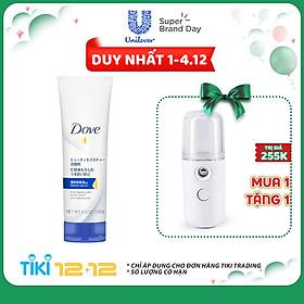 Sữa Rửa Mặt Dove Tinh Chất - Serum Cấp Ẩm Và Cho Da Mềm Mịn 130ml