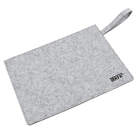 Letter hair (TRNFA) MZ-109 horizontal version of the gray blankets file bag / hand carry zipper briefcase office life bag / A4 sets of materials / notebook protection bag