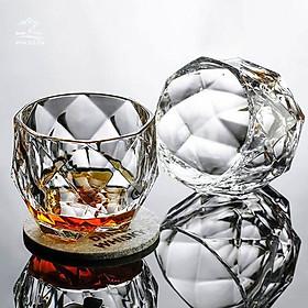 Cốc Uông Soda / Rươu Whisky Phong Cách Cổ Điển Châu Âu Bằng Thủy Tinh - Cốc Thuỷ Tinh Cao Cấp C08