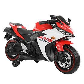 Xe máy moto điện trẻ em phân khối lớn tay ga, chân ga BABY PLAZA N888