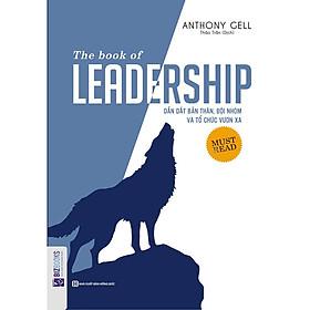 Cuốn sách Dẫn dắt bản thân đội nhóm và tổ chức vươn xa-The book of Leadership tặng bút bi như hình