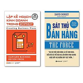 Combo Sách Marketing - Bán Hàng : Lập Kế Hoạch Kinh Doanh Trong 20 Phút  + Sát Thủ Bán Hàng