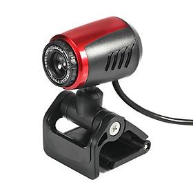 Webcam USB Siêu Nét 480P Web Cam Clip-on Digital Web Camera with Microphone for Laptop PC Computer