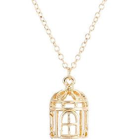 Necklace Gold Pendant Beauty Women Gift