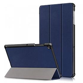 Bao Da Cover Cho Máy Tính Bảng Samsung Galaxy Tab A Plus 8 (2019) P200 / P205 Hỗ Trợ Smart Cover