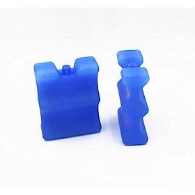 Combo 2 Đá khô giữ lạnh hộp nhựa
