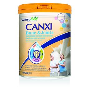 SỮA BỘT WINCOFOOD CANXI BONE&JOINTS LON 900G: Bổ sung Canxi và Collagen tốt cho cơ xương khớp