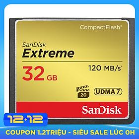 Thẻ Nhớ CF SanDisk 32GB 120MB/s UDMA-7