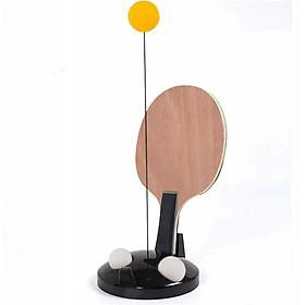 Bộ chơi bóng bàn một mình hoặc 2 người tại nhà, 3 bóng, tặng 1 dây đàn hồi